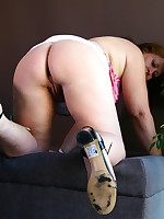 Horny Dutch mature BBW getting dirty