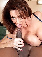 50 Plus MILFs - The Flight Attendant And The Passenger - Deauxma (85 Photos)